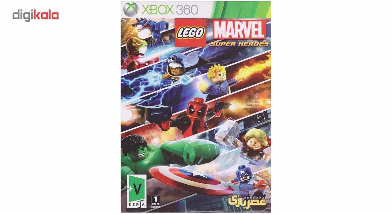 بازی Lego Marvel Super Heroes مخصوص ایکس باکس 360 main 1 1