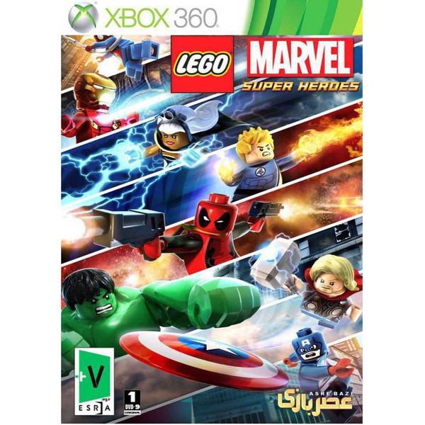 بازی لگو مارول سوپر قهرمانان مخصوص xbox 360