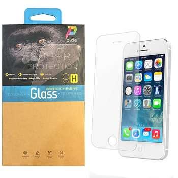 محافظ صفحه نمایش شیشه ای پیکسی مدل Top Clear مناسب برای گوشی اپل آیفون 5/5S/SE