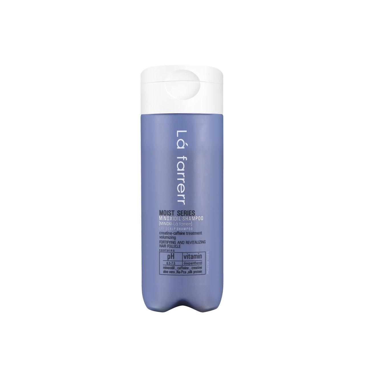 قیمت شامپو ضد ریزش ماینوکسی لافارر مخصوص موهای خشک و زبر مدل Minoxi For Dry Hair حجم 150میلی لیتر