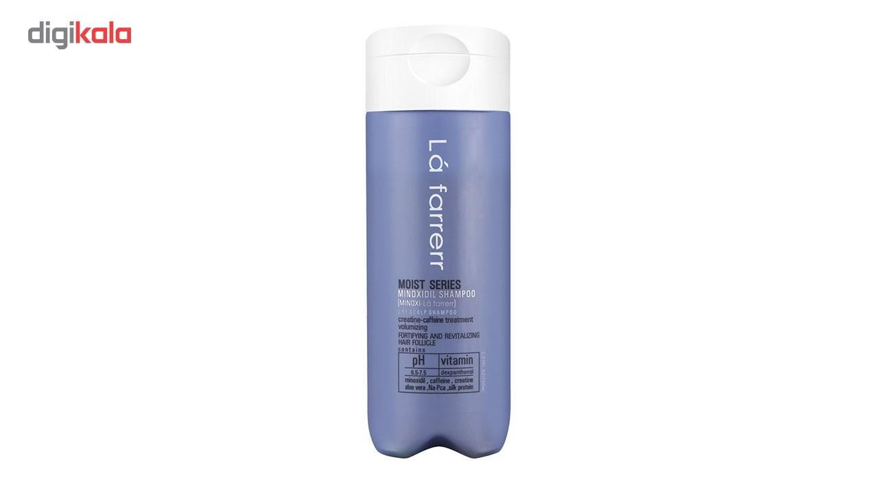 خرید                      شامپو ضد ریزش ماینوکسی لافارر مخصوص موهای خشک و زبر مدل Minoxi For Dry Hair حجم 150میلی لیتر