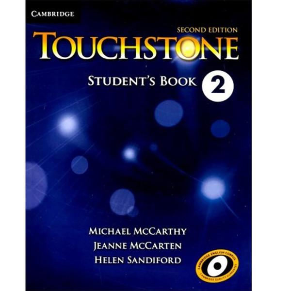 کتاب زبانTouchstone 2  2nd Student BOOK And Workbook-CDاثر مولفان-دو جلدی