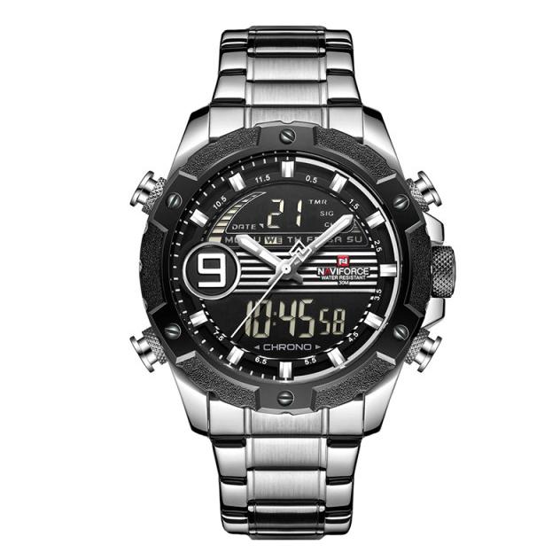 ساعت مچی عقربهای مردانه نیوی فورس مدل NF9146M - NO-ME