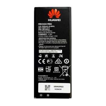باتری موبایل مدل HB4342A1RBC ظرفیت 2200 میلی آمپرساعت مناسب برای گوشی موبایل هوآوی Y6