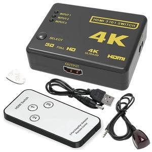 سوئیچ 1 به 3 HDMI دیتک مدل UH-301