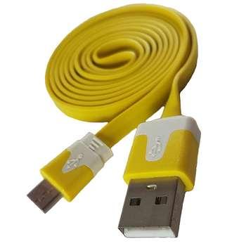 کابل تبدیل USB به MicroUSB اسکار مدلFLAT طول 1 متر