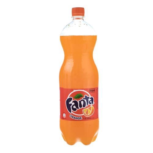 نوشابه پرتقالی فانتا مقدار 1.5 لیتر