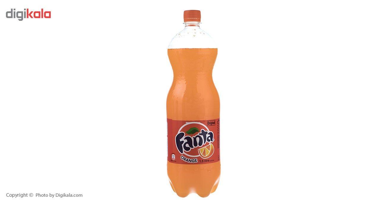 نوشابه پرتقالی فانتا - 1.5 لیتر main 1 2