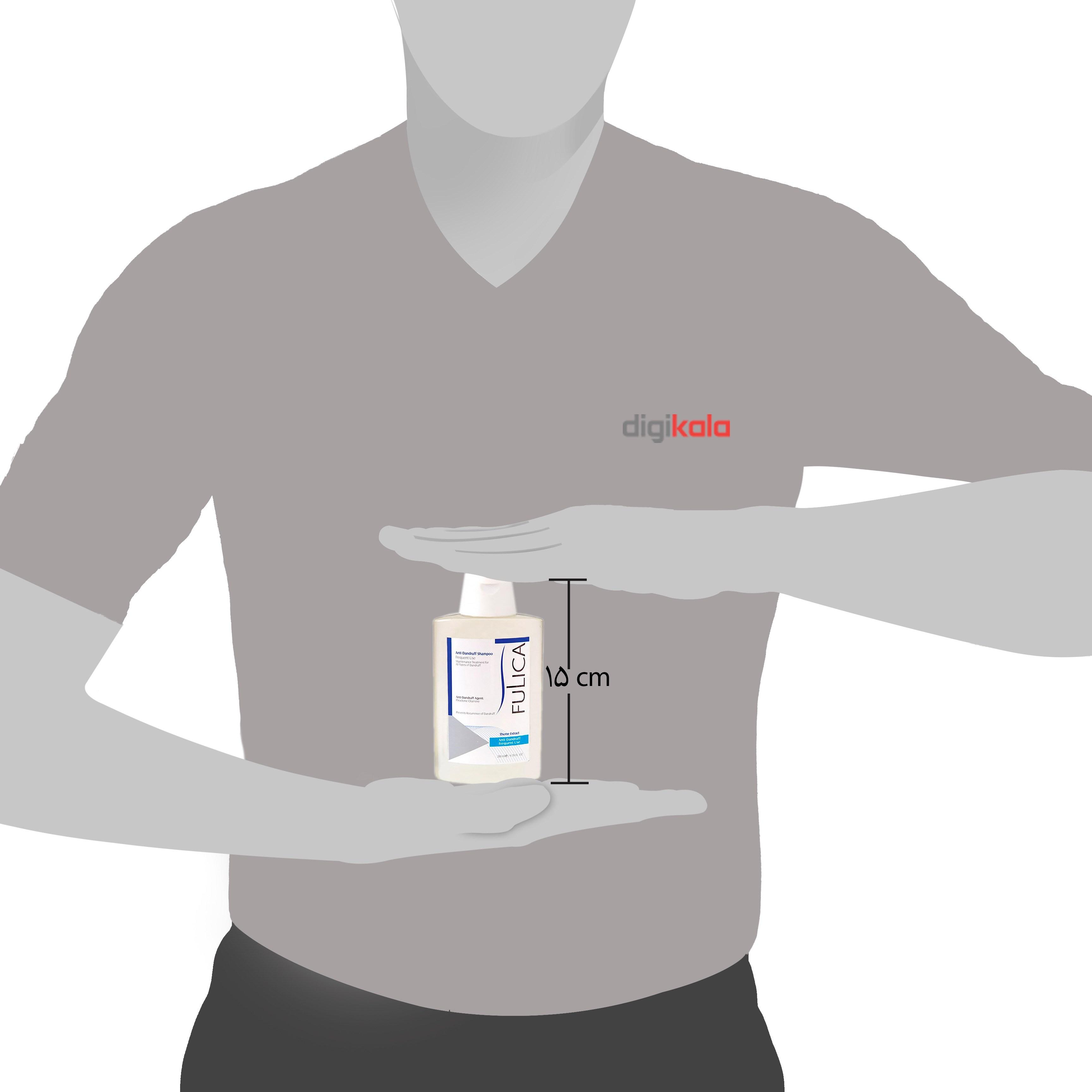 شامپو ضد شوره فولیکا جهت مصرف روزانه حجم 200 میلی لیتر main 1 2