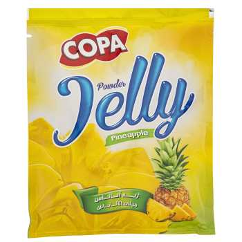 پودر ژله آناناس کوپا مقدار 100 گرم
