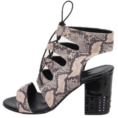 کفش چرم زنانه شهر چرم مدل 2-96
