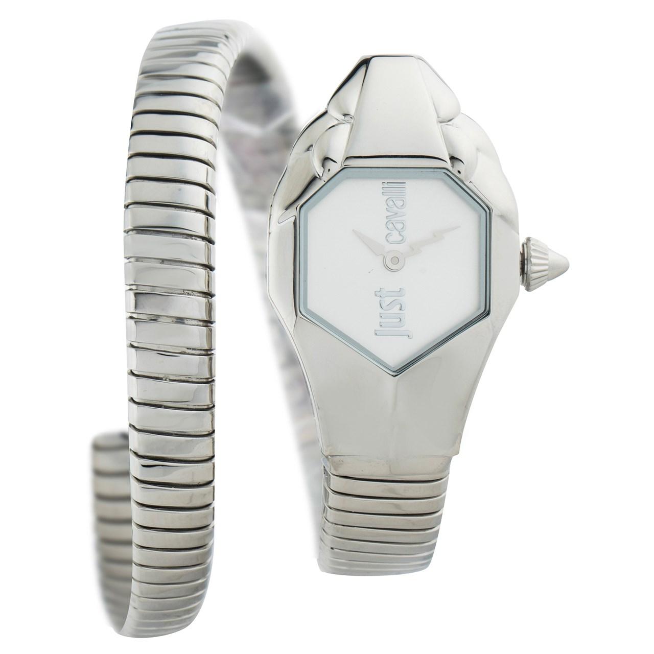 ساعت مچی عقربه ای زنانه جاست کاوالی مدل JC1L001M0015 44