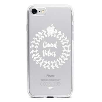 کاور  ژله ای مدل Good Vibes   مناسب برای گوشی موبایل آیفون 7 و 8