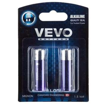 باتری قلمی ویوو مدل Alkaline LR6 بسته 2 عددی