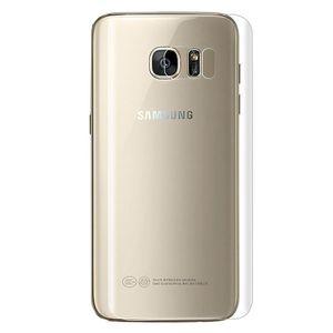 محافظ پشت  گوشی  شفاف مدل TPU Full Cover مناسب برای گوشی موبایل سامسونگ Galaxy S7 Edge