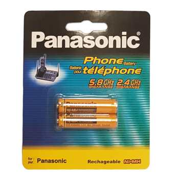 باتری نیم قلمی پاناسونیک مدل HHR-83AAABU