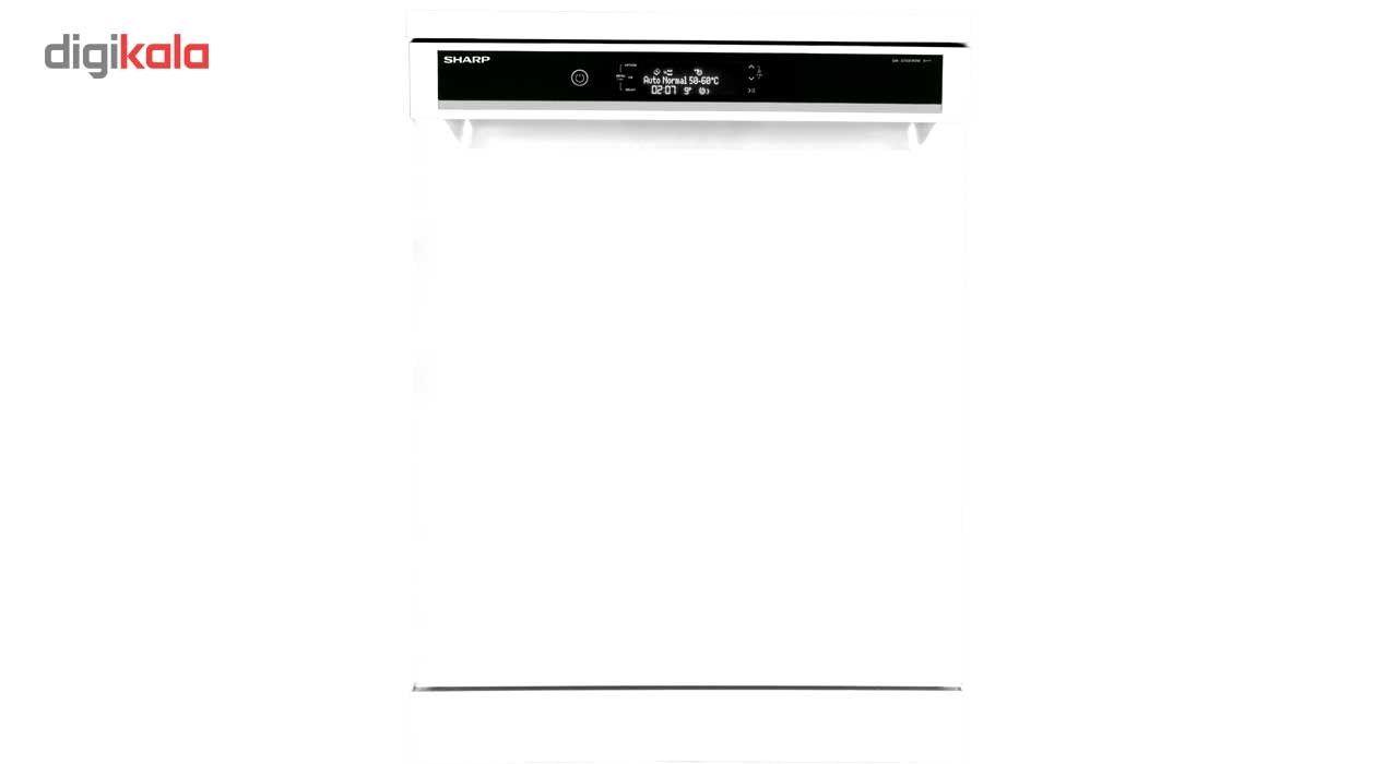 ظرفشویی شارپ مدل QWV1015M ظرفیت 15 نفر  SHARP QWV1015M Dishwasher