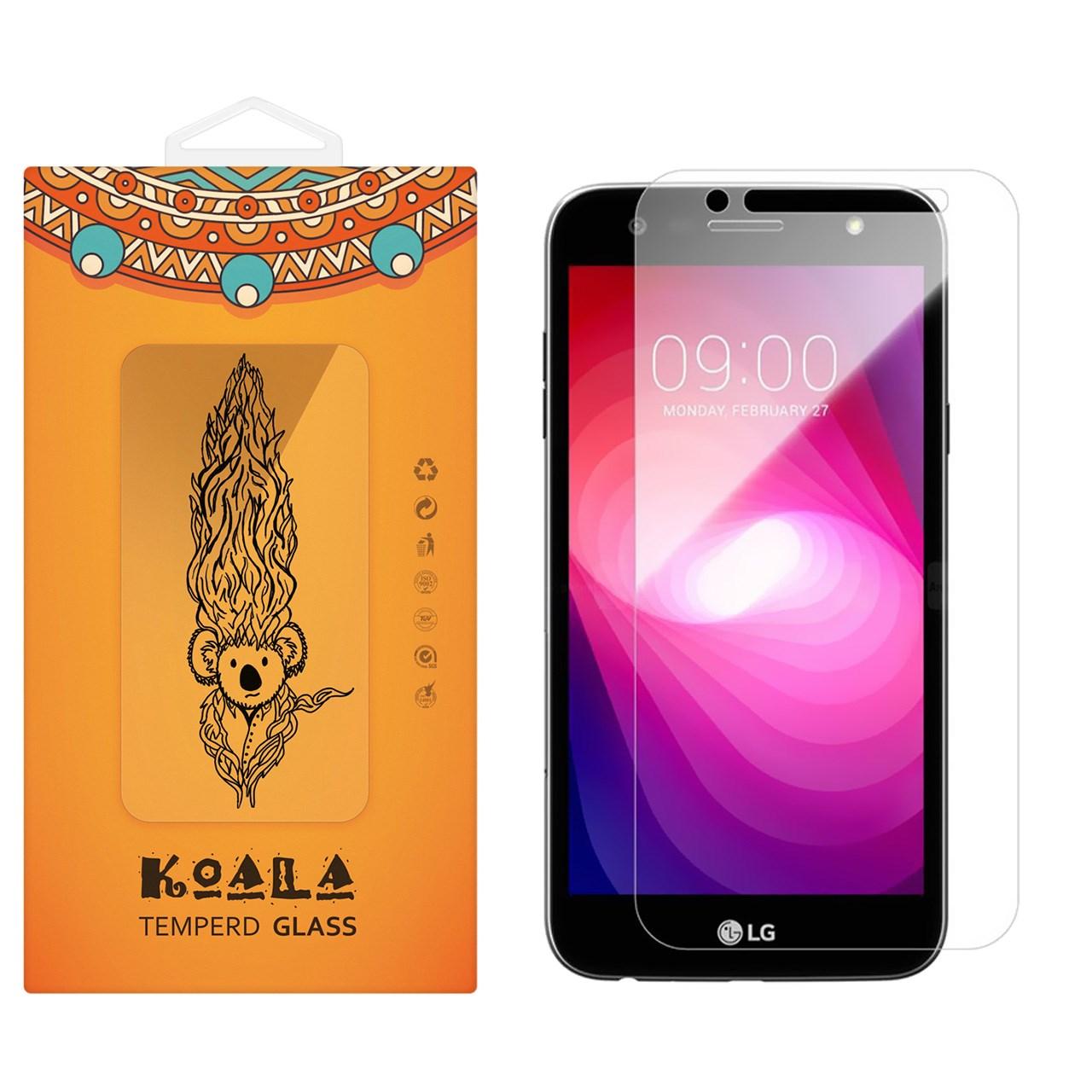 محافظ صفحه نمایش شیشه ای کوالا مدل Tempered مناسب برای گوشی موبایل ال جی X Power 2