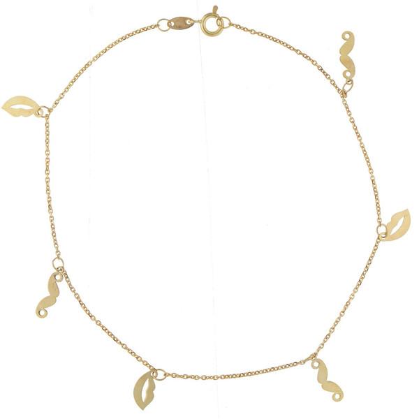 پابند طلا 18 عیار ماهک مدل MA0093 - مایا ماهک