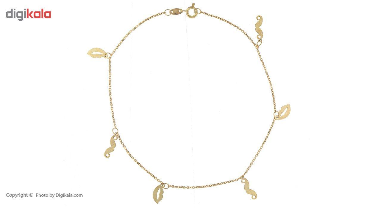 پابند طلا 18 عیار ماهک مدل MA0093 - مایا ماهک -  - 2