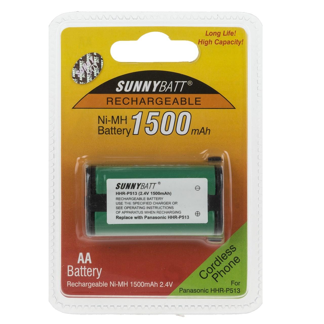 قیمت                      باتری تلفن بی سیم سانی بت مدل HHR-P513