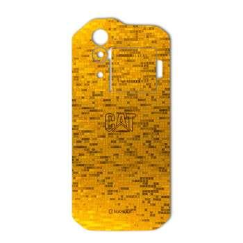 برچسب پوششی ماهوت مدل  Gold-pixel Special مناسب برای گوشی CAT S60