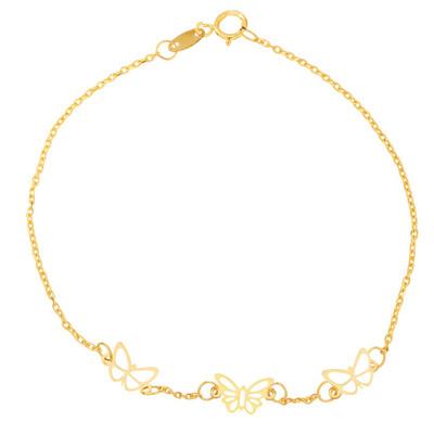 تصویر دستبند طلا 18 عیار شانا مدل B-SG143