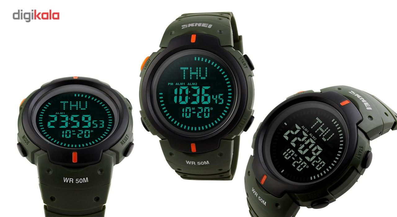 خرید ساعت مچی دیجیتالی مردانه  اسکمی مدل 1231 قطب نما دار