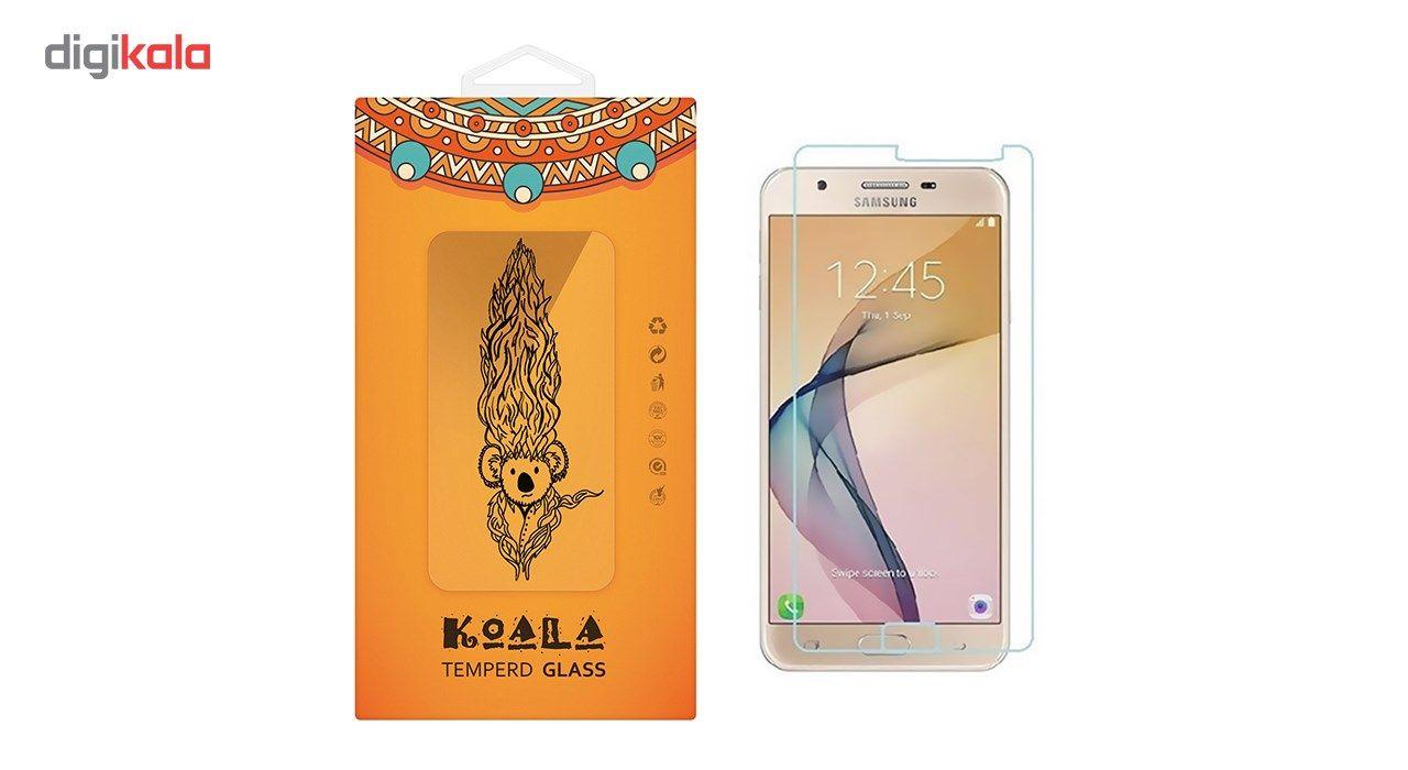 محافظ صفحه نمایش شیشه ای کوالا مدل Tempered مناسب برای گوشی موبایل سامسونگ J5 Prime main 1 1