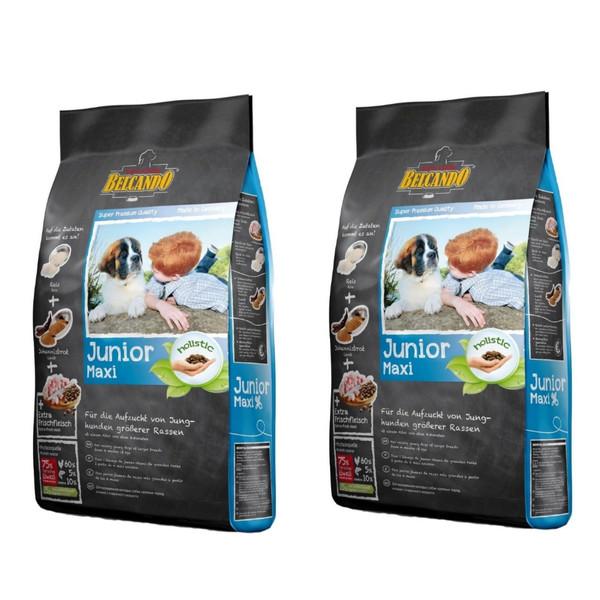 غذای خشک سگ بلکاندو مدل Junior Maxi وزن 1 کیلوگرم بسته دو عددی