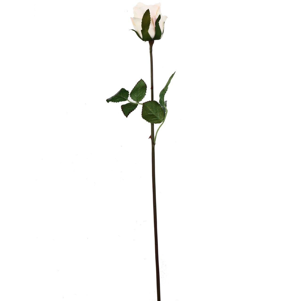 گل مصنوعی هومز طرح رز غنچه نیمه باز  مدل40052 مجموعه 4 عددی