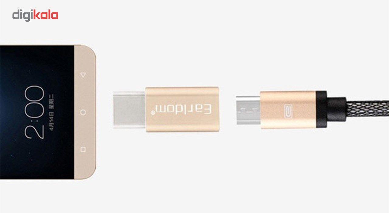 مبدل Micro USB به USB-C ارلدام مدل Earldom ET-TC01 main 1 2