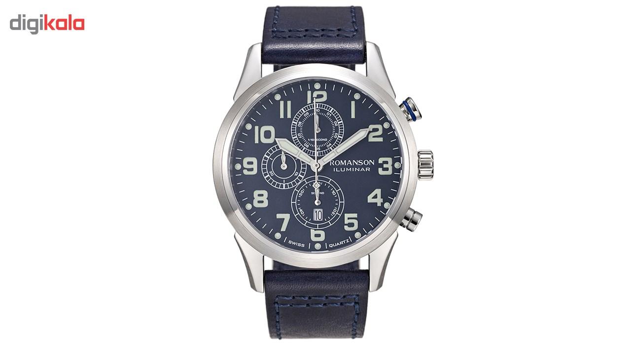 ساعت مچی عقربه ای مردانه رومانسون مدل AL6A14HMUWA4R5