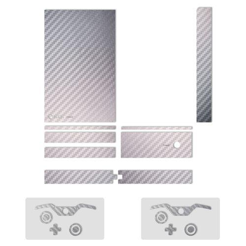 برچسب ماهوت مدلSilver Carbon-fiber Texture مناسب برای کنسول بازی Xbox One