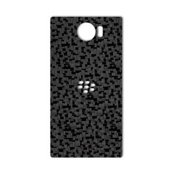 برچسب پوششی ماهوت مدل Silicon Texture مناسب برای گوشی  BlackBerry Priv
