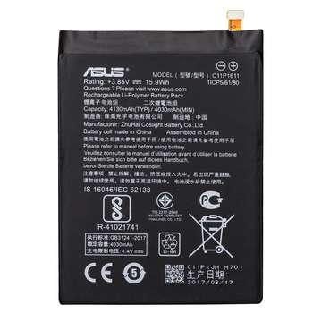 باتری موبایل مدل C11P1611 با ظرفیت 4130mAh مناسب برای گوشی موبایل ایسوس Zenfone 3 Max ZC520TL