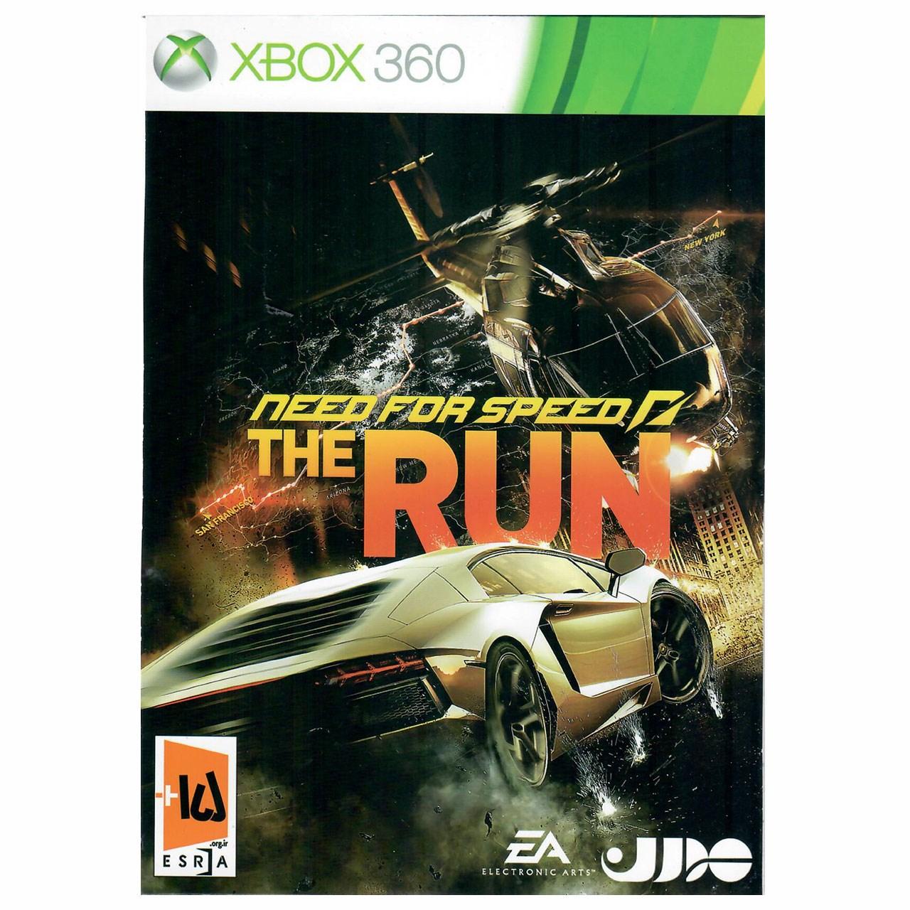 بازی Need For Speed The Run مخصوص ایکس باکس 360