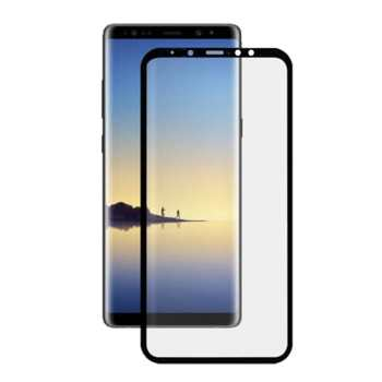 محافظ صفحه نمایش مدل3D Black  مناسب برای گوشی موبایل سامسونگ Galaxy A8 Plus-2018