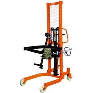 استکر بشکه بر و تخلیه کن هیدرولیک KMC  مدل COT0.35 ظرفیت 350 کیلوگرم