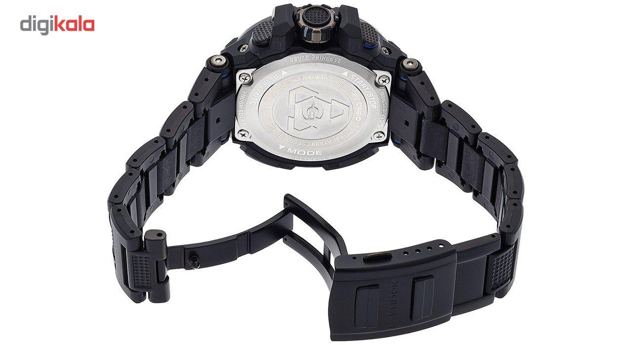 ساعت مچی عقربه ای مردانه کاسیو جی شاک مدل GW-A1100FC-1ADR -  - 3