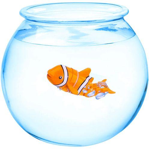 پک آکواریوم و ربات ماهی شناگر مدل Nano Fish