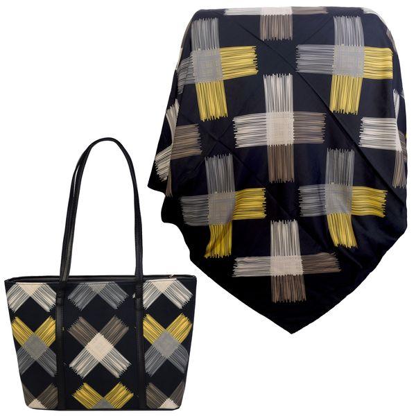 ست کیف و روسری زنانه کد 981025-T1