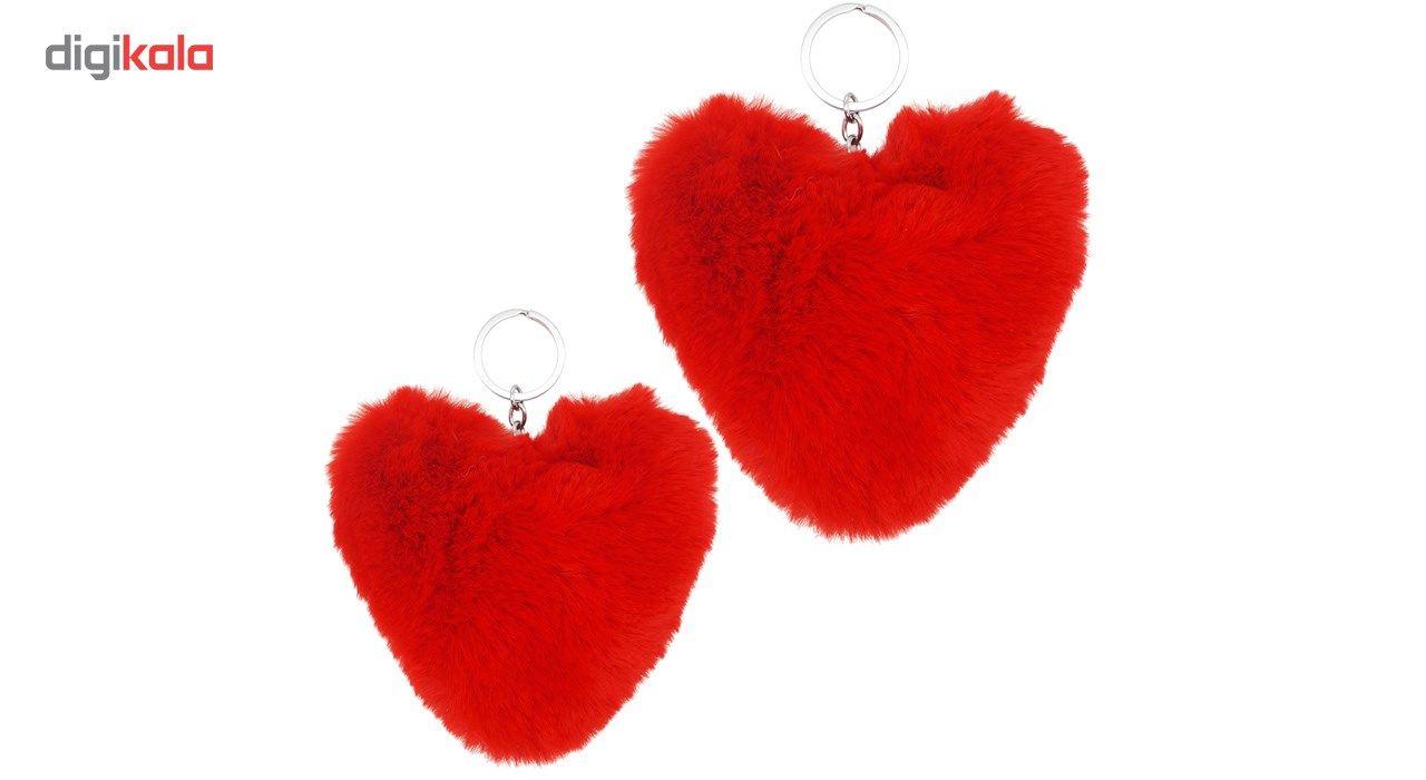 جاسوییچی شهر شیک مدل قلب  JK121-2 بسته دو عددی -  - 2
