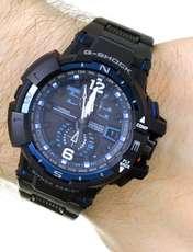 ساعت مچی عقربه ای مردانه کاسیو جی شاک مدل GW-A1100FC-1ADR -  - 4
