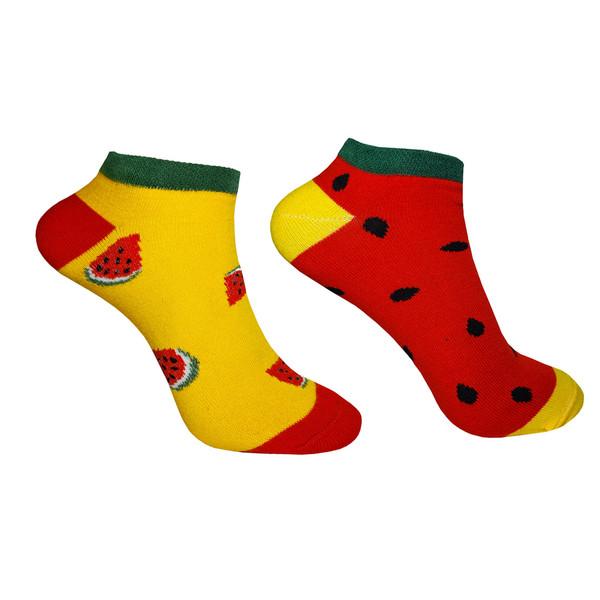 جوراب زنانه زند طرح هندوانه کد - 1 H E