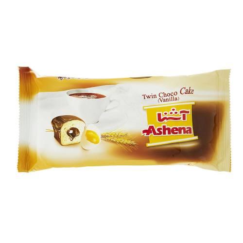شوکو کیک وانیلی دوقلو آشنا مقدار 80 گرم