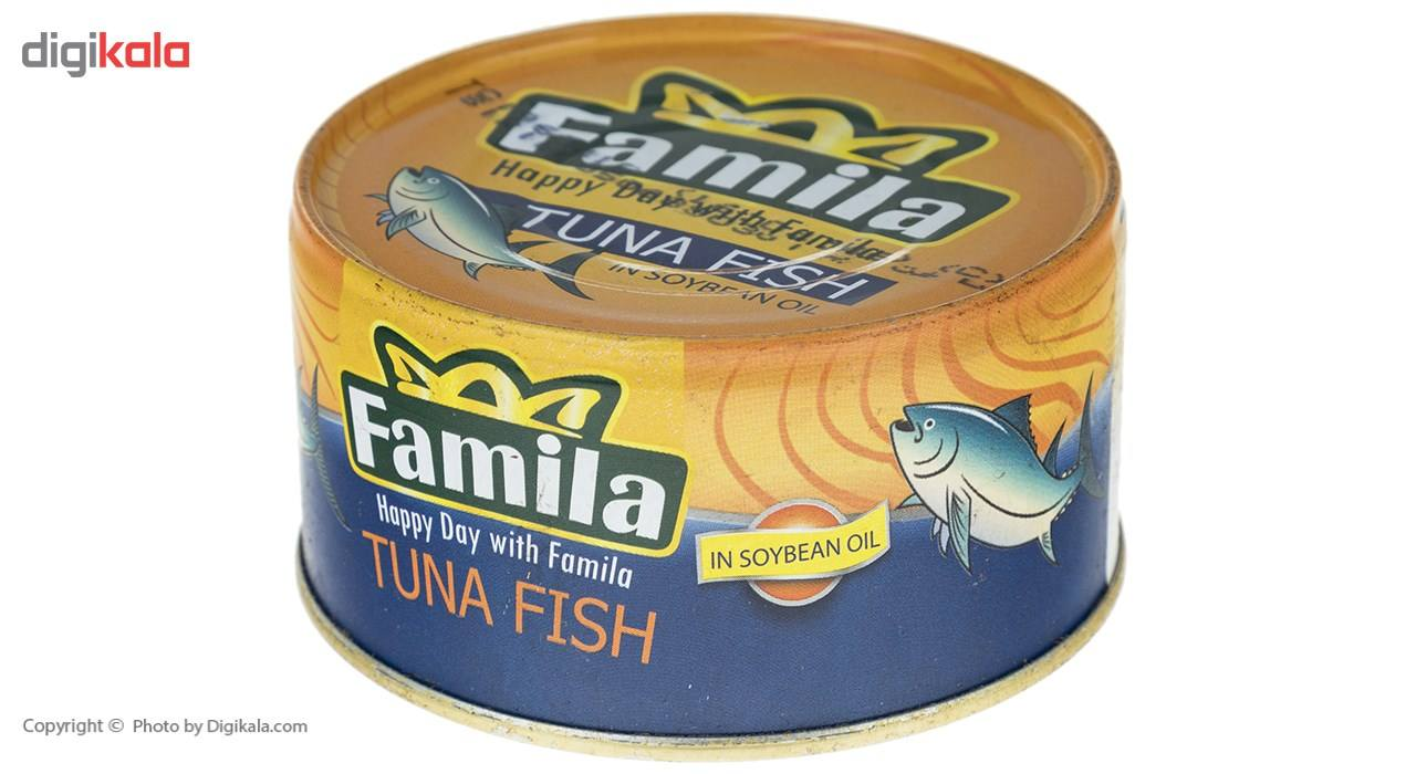 تن ماهی در روغن سویا فامیلا مقدار 180 گرم main 1 1