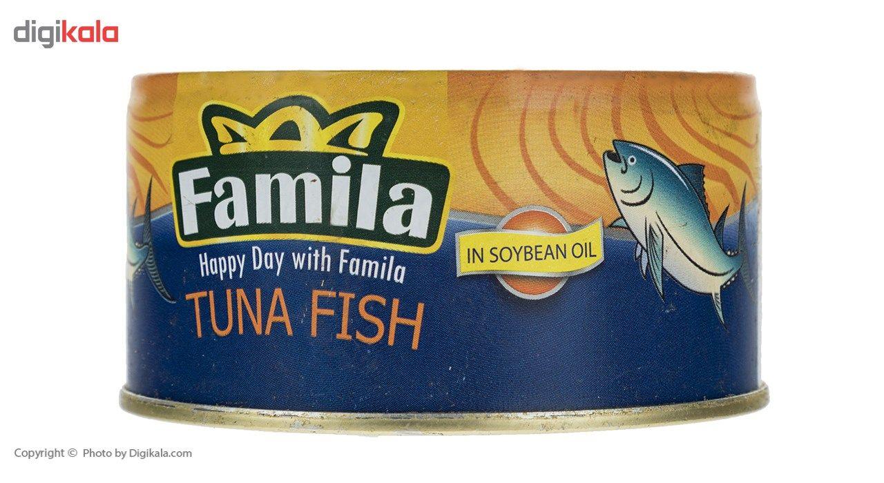 تن ماهی در روغن سویا فامیلا مقدار 180 گرم main 1 3