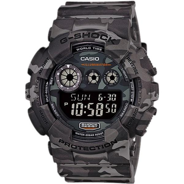 ساعت مچی دیجیتالی مردانه کاسیو جی شاک GD-120CM-8DR 19