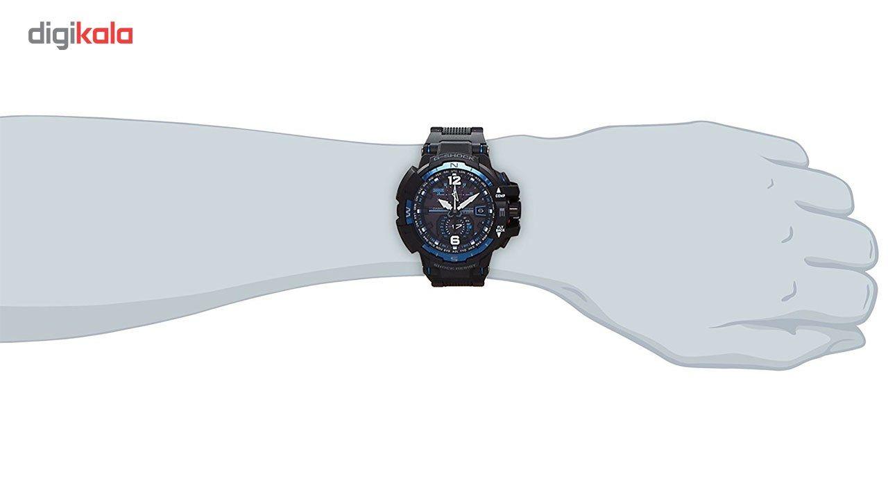 ساعت مچی عقربه ای مردانه کاسیو جی شاک مدل GW-A1100FC-1ADR -  - 5